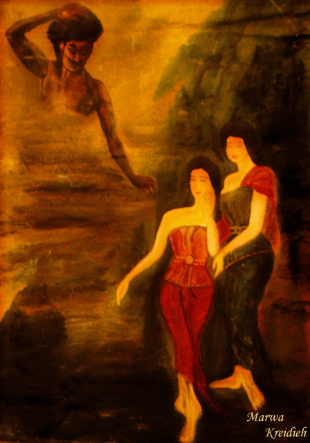 Peinture à l'huile by marwa kreidieh -
