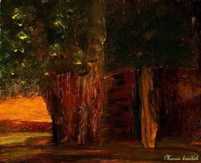 La forêt- by marwa kreidieh